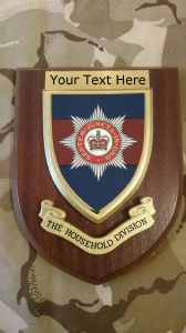 Household Division Personalised Military Wall Plaque